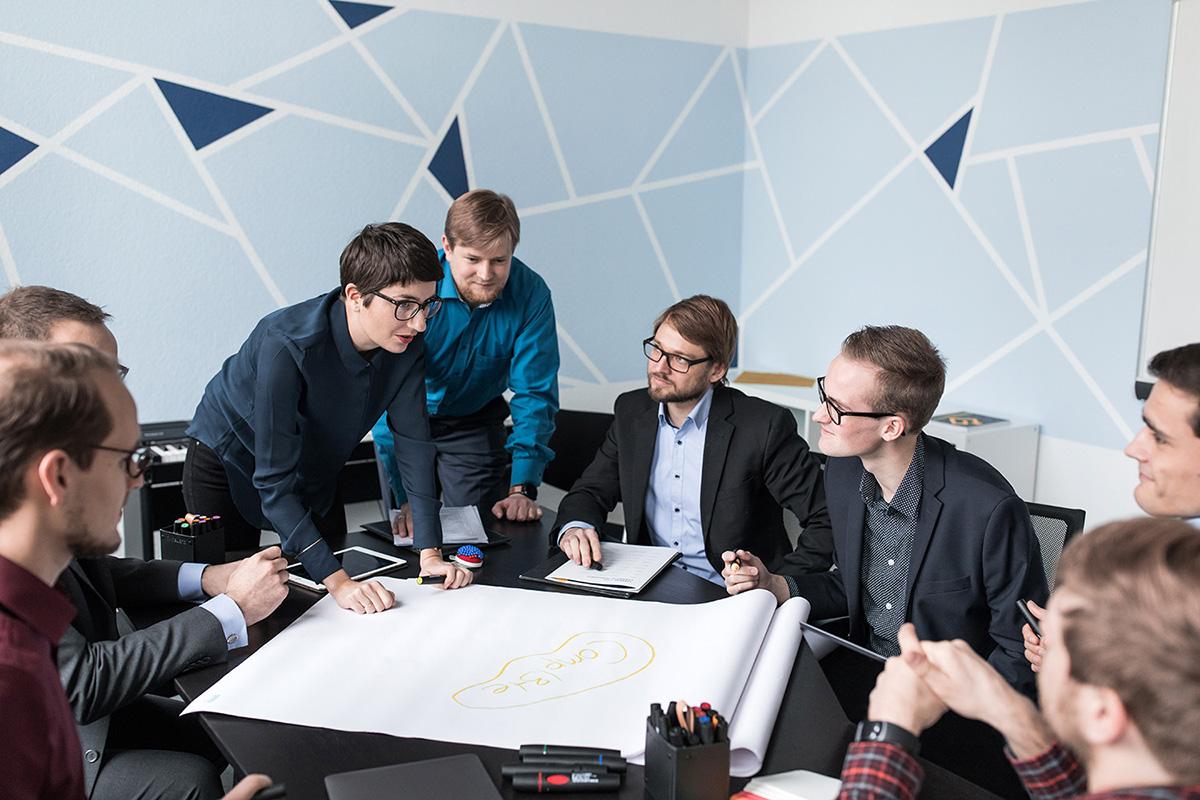Unternehmensfotografie, Unternehmensfotograf Leipzig, Imagefotos Leipzig, Bürosituationen, Businessfotos Leipzig